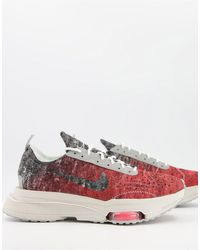 Nike Ярко-красные Кроссовки Air Zoom-type Revival-красный