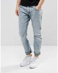G-Star RAW - Arc 3d Slim Jeans Light Aged Rip And Repair - Lyst
