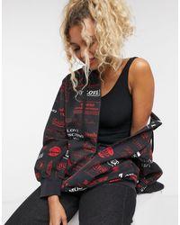 Love Moschino Худи Черного Цвета Со Сплошным Принтом Логотипа -черный