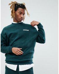 ASOS - Asos X Unknown London Sweatshirt With Back Stripe - Lyst