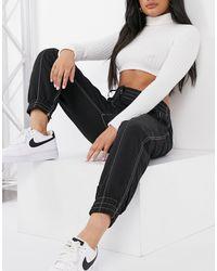 10 Crosby Derek Lam Utility Style Sweatpants - Black