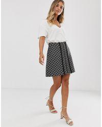 Sass & Bide Minifalda de bouclé - Negro