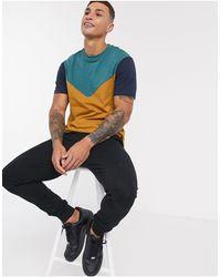ASOS Camiseta con diseño - Azul