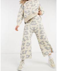 Never Fully Dressed Pantaloni oversize - Neutro