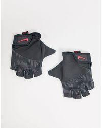 Nike Серые Женские Спортивные Перчатки Training-серый