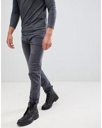 Mennace - Washed Black Slim Wallace Jeans - Lyst