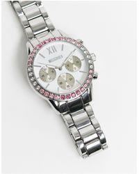 Missguided Серебристые Часы -серебристый - Металлик