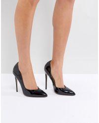 Public Desire - Sachi Black Patent Court Shoes - Lyst