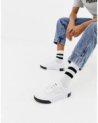 PUMA Cali Bold Wn's, Zapatillas Deportivas para Mujer - Blanco