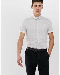 ASOS - Tall - Chemise ajustée à pois style workwear - Lyst