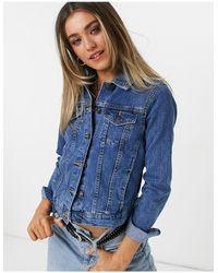 Pimkie Giacca di jeans blu medio