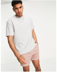 Another Influence Towelling T-shirt Co-ord - Grey