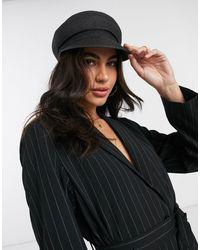 ASOS Straw Bakerboy Hat - Multicolor