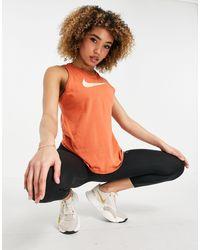 Nike Icon Clash Dri-fit Tank Top - Orange