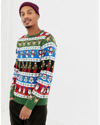Threadbare - Tall Jacquard Christmas Jumper - Lyst