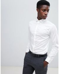 Jack & Jones - Slim Fit Long Sleeve Shirt - Lyst