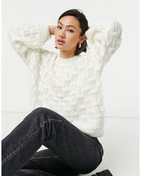 Fashion Union Relaxed Sweater - Multicolor