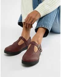 Truffle Collection Flat Shoes - Red