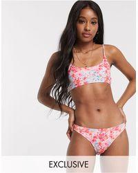Miss Selfridge Bikini Bottoms - Multicolour