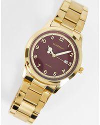 Sekonda Womens Bracelet Watch With Red Dial - Metallic