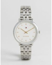 Tommy Hilfiger - 1781762 Silver Pippa Watch - Lyst