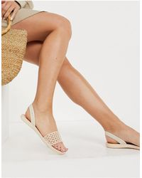 Ipanema Breezy Two Part Sandals - White