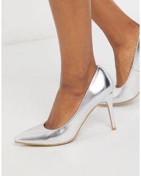 Glamorous Court Heeled Shoe - Multicolour