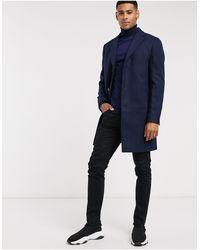 New Look Темно-синее Пальто -темно-синий