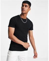 Burton Burton – Kurzärmliges Muskel-T-Shirt - Schwarz
