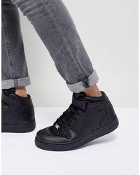 Nike Air Force 1 Mid '07 - Sneakers - Zwart