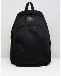 Vans - Van Doren Backpack In Black Va36osblk - Lyst