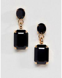 Krystal London - Drop Stud Earrings - Lyst