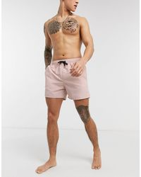 Another Influence Swim Shorts - Pink