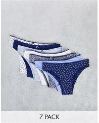 Women'secret Lot - Bleu