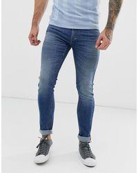Lee Jeans Malone Skinny Fit Jean - Blue