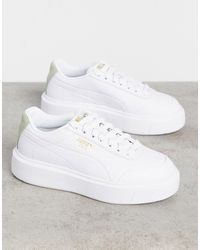 PUMA Oslo Femme - Sneakers bianche e salvia - Bianco