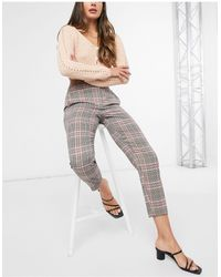 Y.A.S Cropped Trouser - Grey