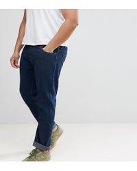 Loyalty & Faith - Loyalty And Faith Plus Regular Fit Jeans In Darkwash Blue - Lyst
