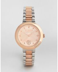Versus - Sp3706 Lantau Island Bracelet Watch In Mixed Metal - Lyst