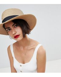 Warehouse - Straw Sun Hat - Lyst