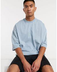 ASOS Oversized Heavyweight T-shirt - Blue