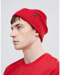SELECTED - 100% Merino Wool Beanie - Lyst