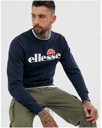Ellesse Темно-синий Свитшот С Классическим Логотипом