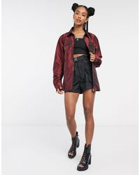 The Ragged Priest Bomber Jacket - Red