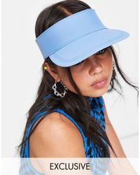 Glamorous Visera azul claro