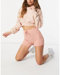 In The Style - Shorts coral - Lyst