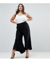 ASOS - Tailored Soft Fluted Pants - Lyst