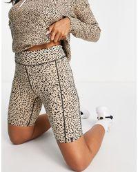 Volcom Shorts con estampado animal Lil - Multicolor