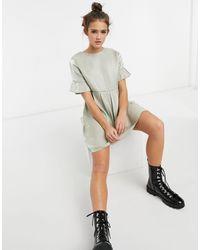 Lola May Smock Dress - Green