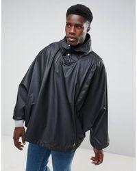 Herschel Supply Co. Herschel Forecast Waterproof Poncho In Black